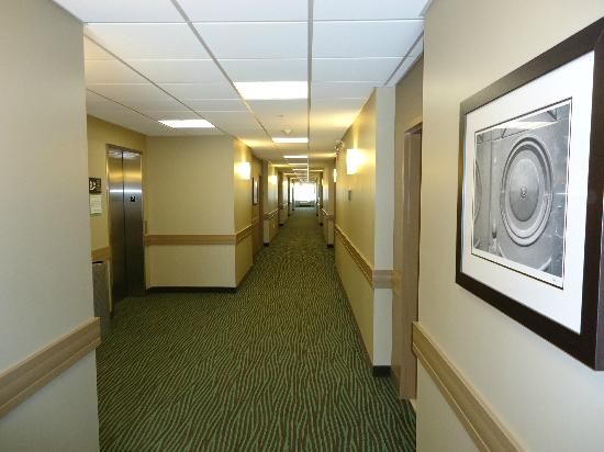 Best Western Plus Walkerton Hotel & Conference Centre: hotel corridors