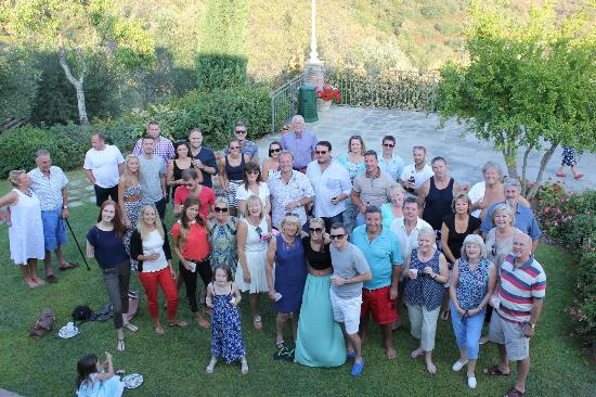 BBQ at Villa San Crispolto day after the wedding