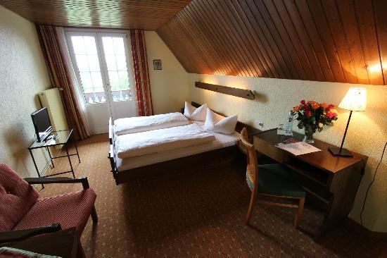 Hotel Hochfirst Garni: rustikales Economy-Zimmer