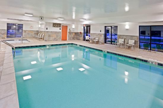 Hampton Inn Detroit / Utica - Shelby Township : Indoor Swimming Pool and Whirlpool