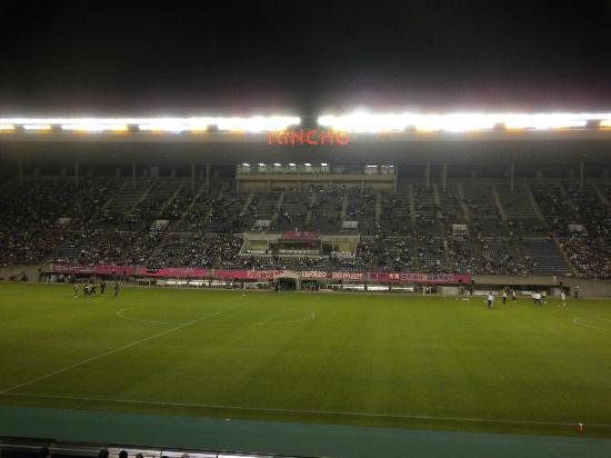 Osaka Nagai Stadium: メインスタンド