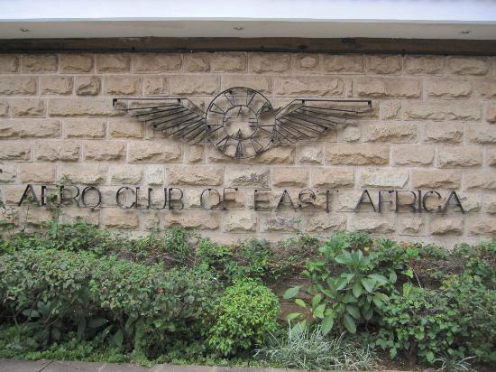 Aero Club of East Africa: Main entrance