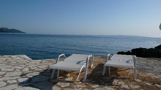 Hotel Mikros Paradisos: Absulute Ruhe