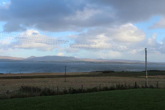 Kentraw Farmhouse: View across Loch Indaal