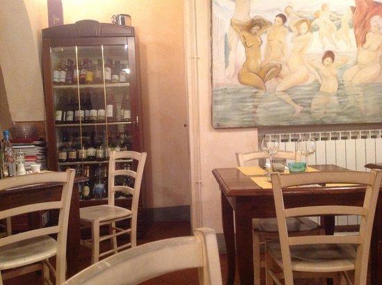 Osteria del Angelo: Saletta