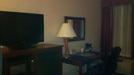 Clarion Inn & Suites Airport: Sorry it's dark took with cell