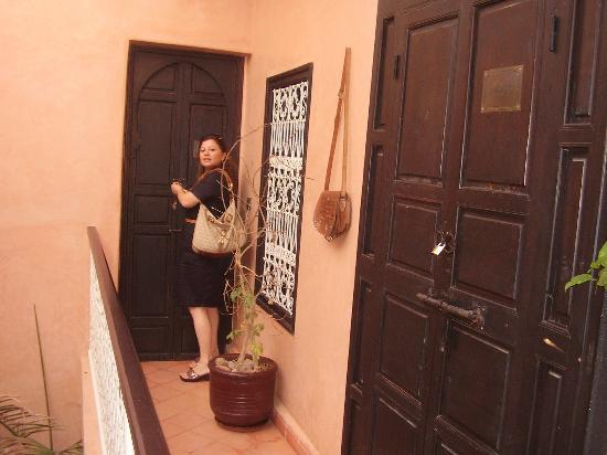 Riad Picolina: entrée de la chambre