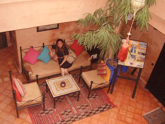 Riad Picolina: patio