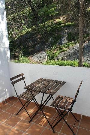 Apartamentos Victoria: Terraza privada