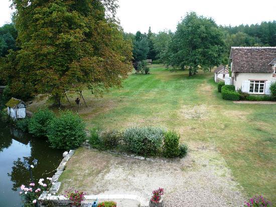 Le Moulin de Crouy : Vista desde la habitación del tercer piso.
