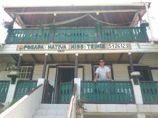 Posada Nativa Miss Trinie: Vista de la posada