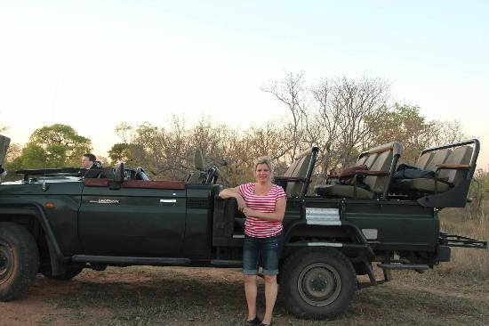 Waterbuck Game Lodge: Our tour truck