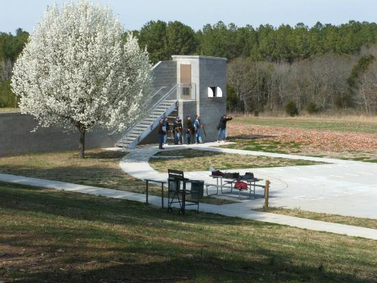 Henry Horton State Park Inn: The skeet range in the Park