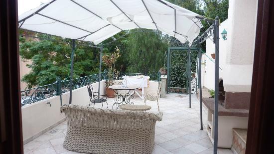 Bed and Breakfast Porto Romano: Terrace