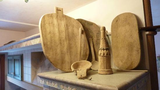 Bed and Breakfast Porto Romano: Deco in kitchen