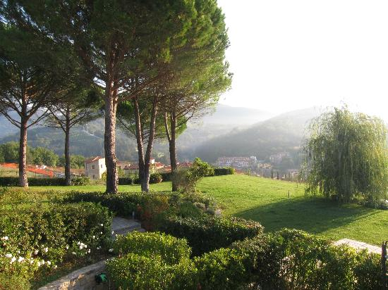 Cavarchino B&B: View from our private terrace