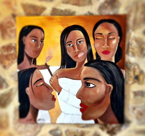 Hotel Abaco Altea: Las chicas de lLa Habana de Linda Caparo