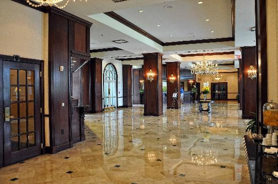 Hilton Atlanta Marietta Hotel Conference Center Main Lobby