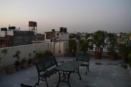 Grace Home : View from rooftop balcony