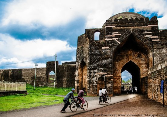 The Bidar Fort Clicked by Desi Traveler