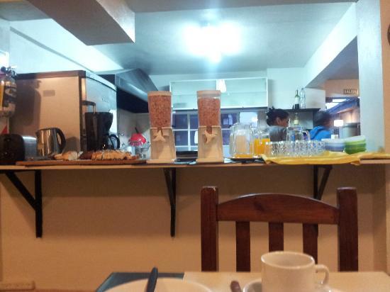 Hostel Los Troncos : Desayuno