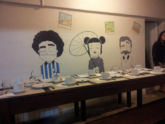 Hostel Los Troncos: Comedor