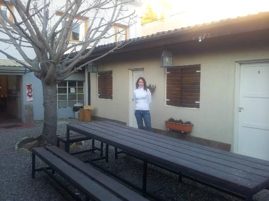 Hostel Los Troncos: Habitación que daba al patio
