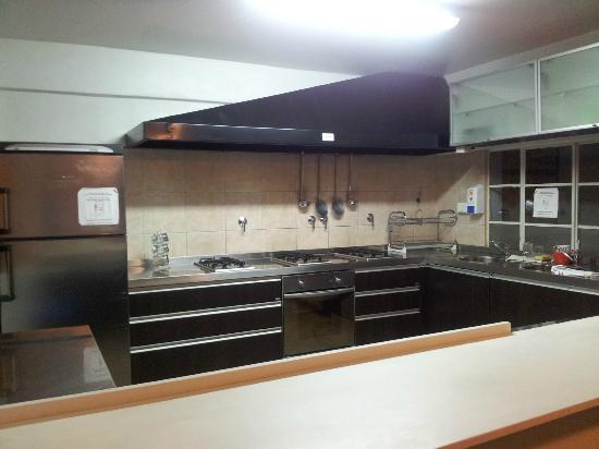 Hostel Los Troncos: Cocina