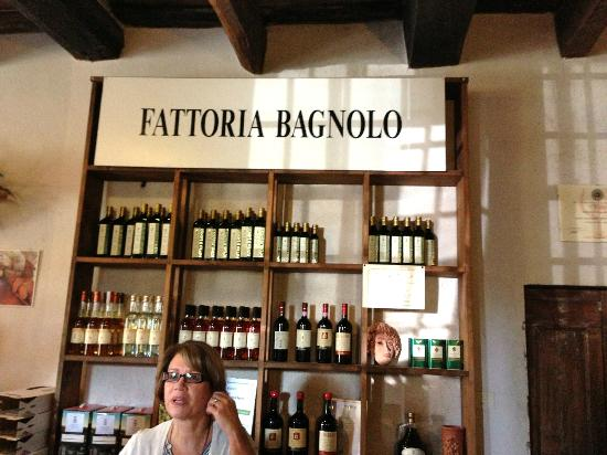 Tuscan Wine Tours with Angie: The first winery of the Chianti tour