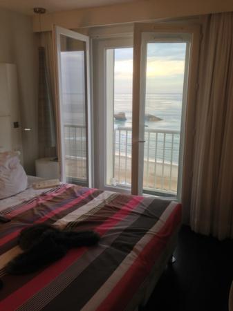 Le Windsor Grande Plage Biarritz: chambre