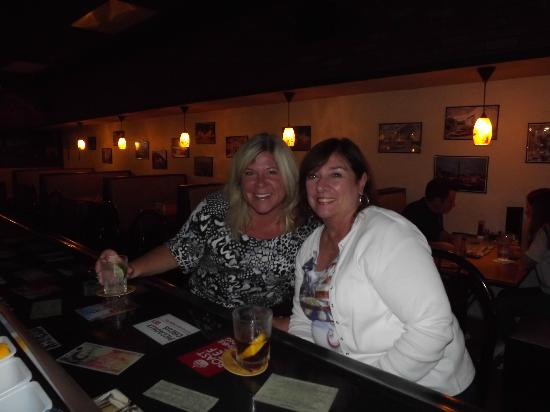 Grind House Bar and Grill: The Girls enjoying Happy Hour