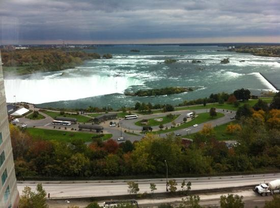 Radisson Hotel & Suites Fallsview: Wow what a view