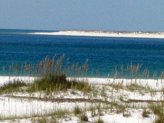 Gulf Islands National Seashore: Entrance to Pensacola Bay.