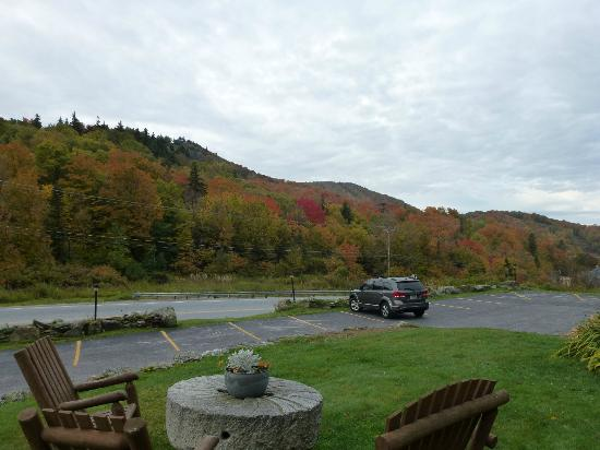 Inn at Long Trail: View from in front of room