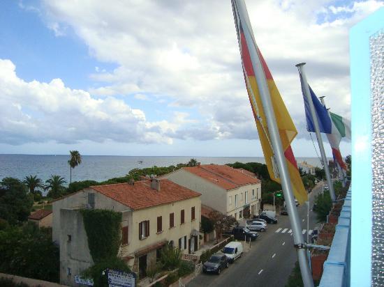 Hôtel Maquis et Mer : Il panorama dal balcone della stanza