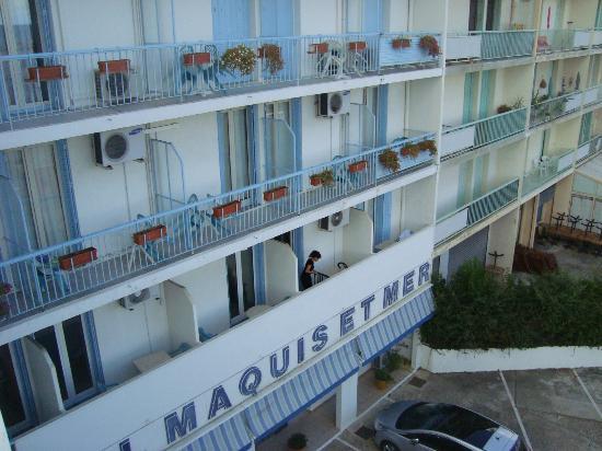 Hotel Maquis et Mer: La facciata dell'hotel