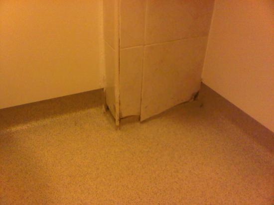 Hilton Milton Keynes: Broken tiles