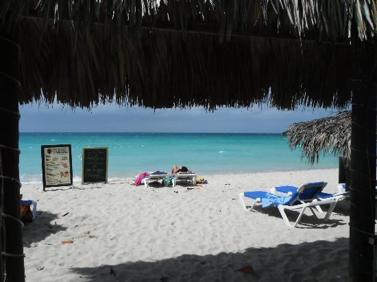 Bar-B-Barn: vista dall'albergo verso la spiaggia