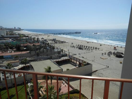 Rosarito Inn: View from balcony