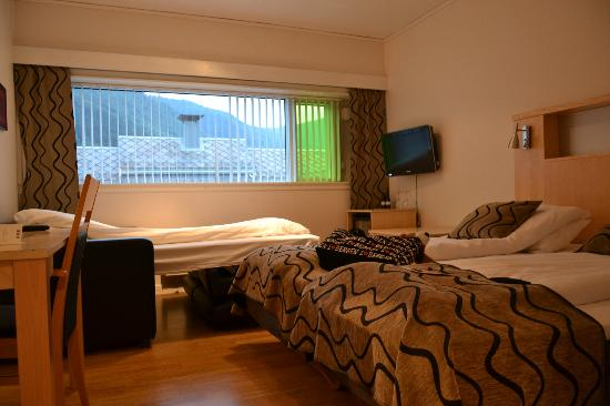 Quality Hotel Sogndal: Stanza