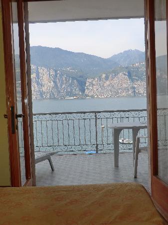 albergo casa Sartori: dal letto