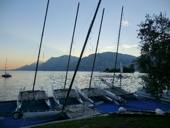 albergo casa Sartori: scuola di vela