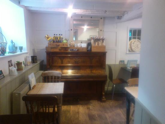 The Campden Pantry: piano in the pantry