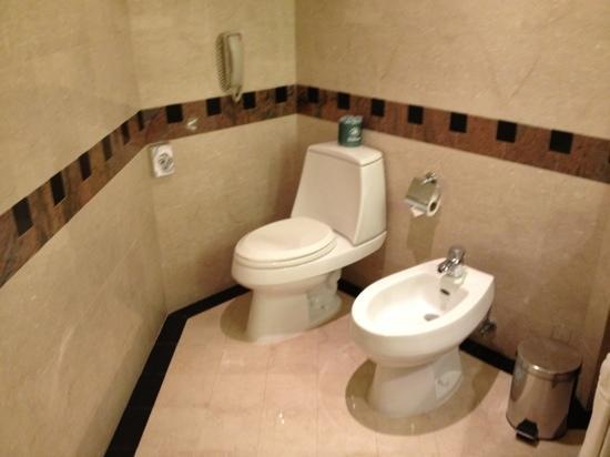 Jeddah Hilton Hotel: toilette