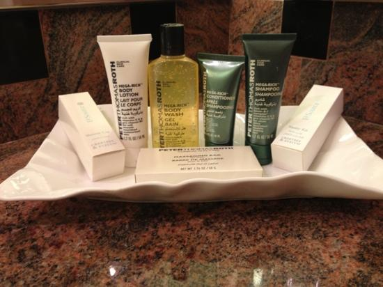 Jeddah Hilton Hotel: bath quality items