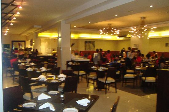 Fountains Hotel: Restaurante do hotel.