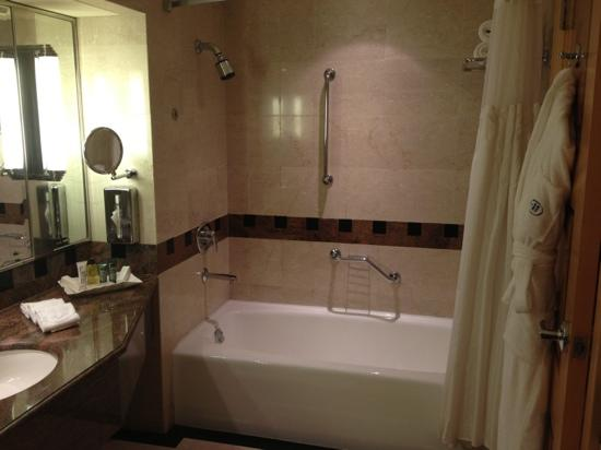Jeddah Hilton Hotel: shower