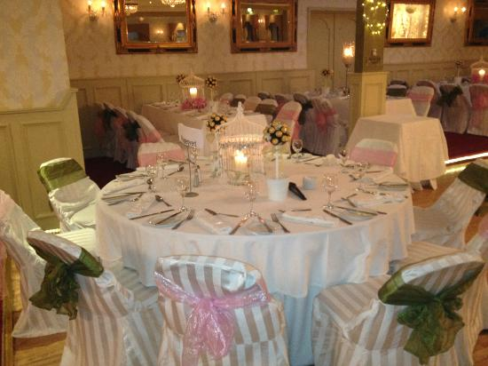 Fitzgerald's Woodlands House Hotel: Evening Reception