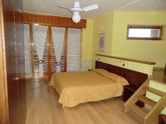 Hotel Casa Sartori: camera