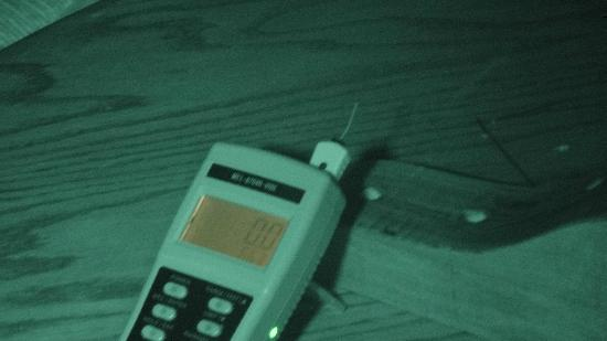Haunts of Mackinac: No EMF hits. This instrument also has vibration detection but no one wanted to play.